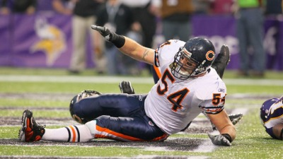 Brian Urlacher Has Ligament Damage