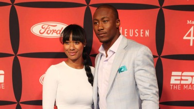 Brandon Marshall Address Crowd at Mental Health Convention