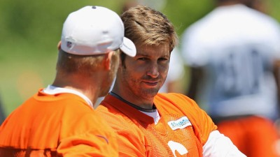 Bears Cutler Learning to Take Coaching from Cavanaugh