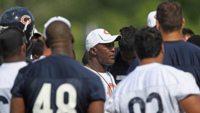 Lovie Smith OK With Extra Pressure