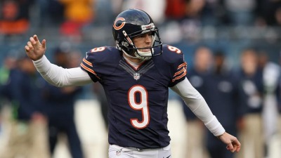 Bears Shut Down Robbie Gould for the Season