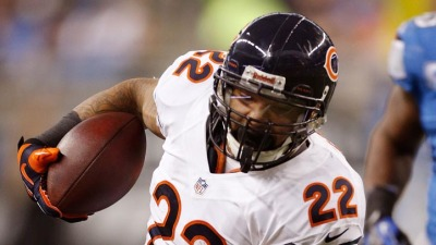 Matt Forte, Tim Jennings Visit the Troops