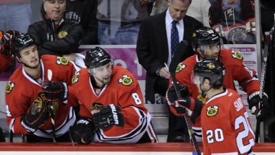 Three Stars: Versteeg Scores as Hawks Roll