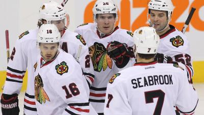 Shaw, Sharp Keying Hawks' Power Play Improvement