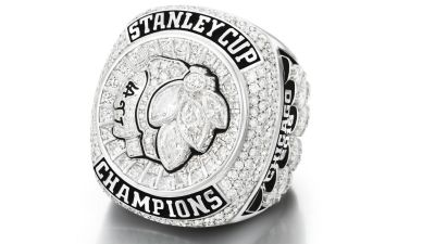 355 Diamonds Adorn Hawks' New Stanley Cup Rings