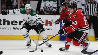 Stars Sneak Past Blackhawks 4-3