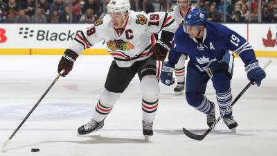 Three Stars in Hawks' Loss to Leafs