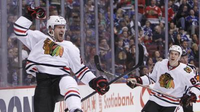 Three Stars: Saad Scores Twice as Blackhawks Beat Canucks