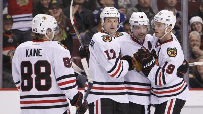 Kane, Toews Score as Blackhawks Win 2-1 Over Sabres