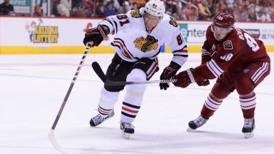 Hawks Headlines: Hossa, Raanta Eager to Return to Ice