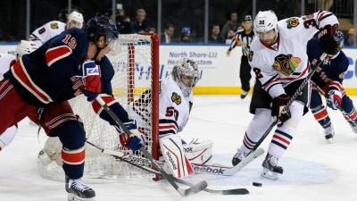 Three Stars: Keith Looks Sharp Even As Hawks Fall