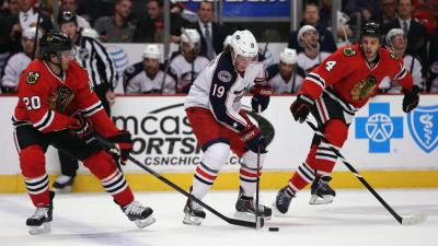 Blackhawks Blow Out Blue Jackets 6-1