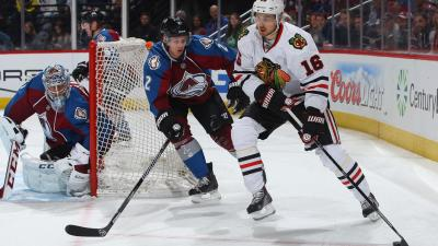 Blackhawks Lose to Avalanche by 3-2 Margin