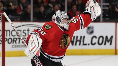 Three Stars: Bickell, Crawford Step Up as Hawks Snap Skid