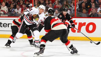 Senators Knock off Blackhawks 5-3