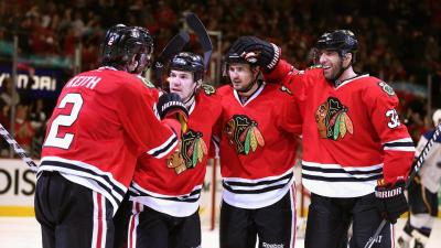 Who Was the Blackhawks' First Round MVP?