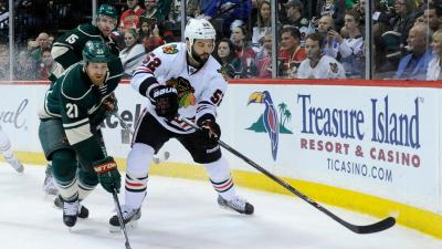 Bollig vs. Versteeg: Who Should Sit When Shaw Returns?