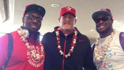 Bears Arrive in Hawaii For Pro Bowl