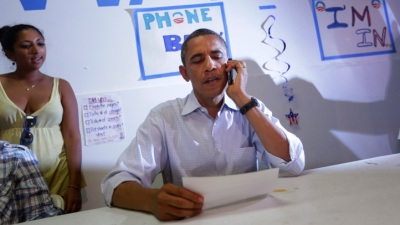 Get Out! Obama Volunteers Must Work for Elex Tickets