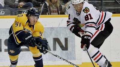 Hossa Suffers Another Injury