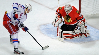 Hawks Rally to Beat Rangers