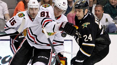 Marian Hossa Out Tonight Against the Ducks