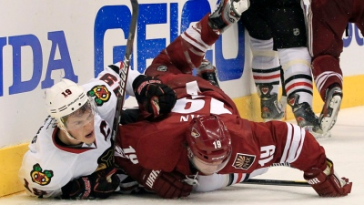 Hawks Fall to Coyotes in OT
