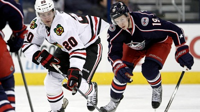 Blackhawks Win 11th Straight Against Columbus