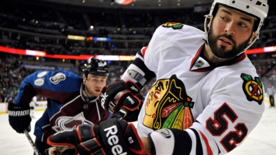 "Bollig Calls Orpik Hit on Toews ""Clean"""