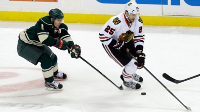 Blackhawks, Wild Will Face Off in First Round