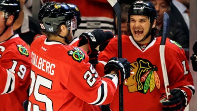 Blackhawks Beat Stars 8-1