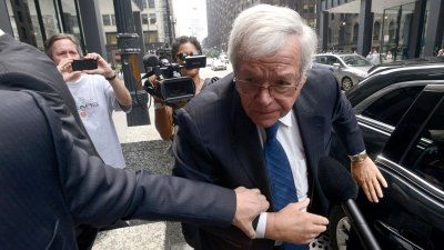 Judge Tosses Federal Lawsuit Alleging Hastert Misused Office