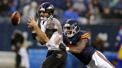 Undisciplined Bears Commit 13 Penalties Against Ravens