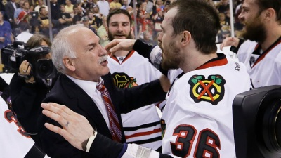 Quenneville Hits Milestone in Hawks Win Over Predators