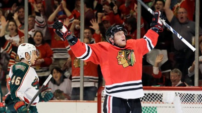 Hossa Late Scratch, Smith In Lineup for Game 3