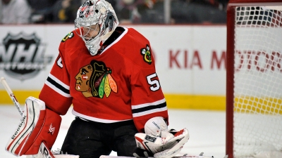 Three Stars: Crawford Makes 38 Saves for Hawks
