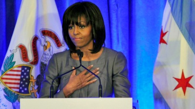 Michelle Obama To Meet With Harper High School Students