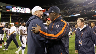 Manning Makes Cameo, Broncos Beat Bears