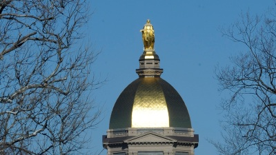 Hawks Will Again Open Camp at Notre Dame