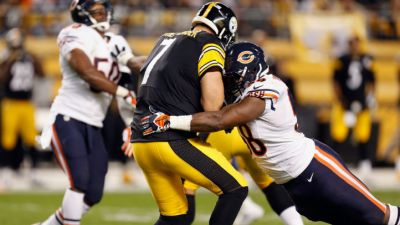 Bears Survive Second Half Scare, Beat Steelers 40-23