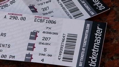 Watch Out For Counterfeit Bears Tickets