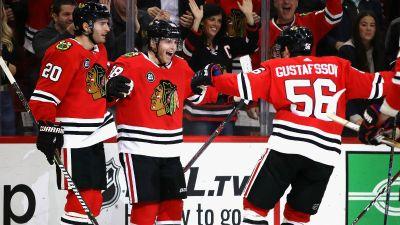 Three Stars: Saad, Kane Shine as Blackhawks Down Ducks