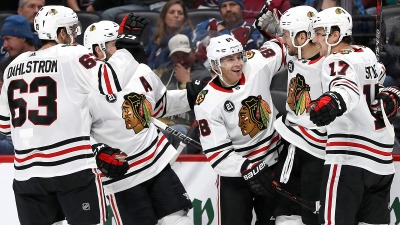 Patrick Kane, Blackhawks Blow Past Sabres