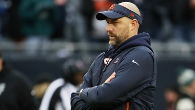 Nagy Wins Top Coach Award in 1st Bears Season