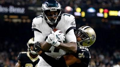 Foles Interception Dooms Eagles in Game vs. Saints
