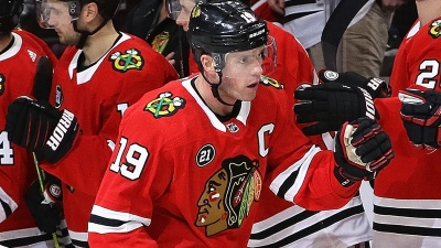Toews Joins Exclusive Club With Hat Trick
