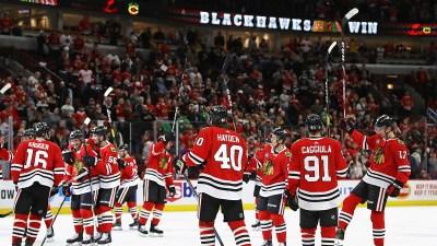 Three Stars: Red Wings vs. Blackhawks