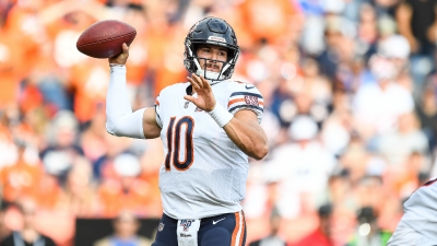 Mitchell Trubisky Practices for 2nd Straight Day