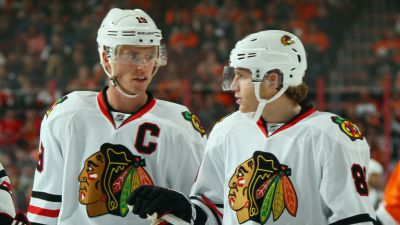 Quenneville Reunites Kane, Toews on Top Line