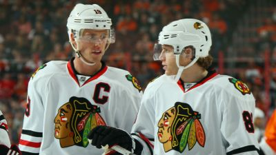 Kane, Toews Make History in Blackhawks' Win